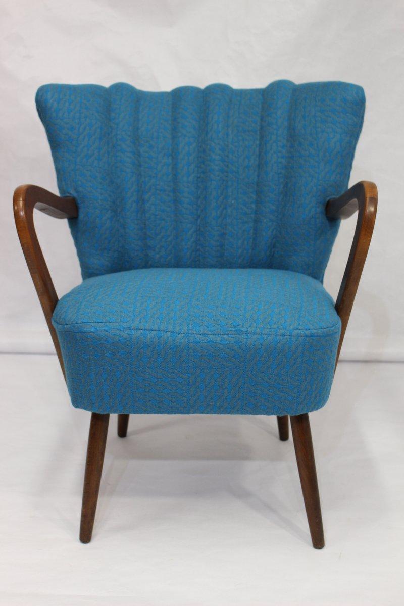 Vintage Sessel in Sonia Rykiel Stoff, 1950er