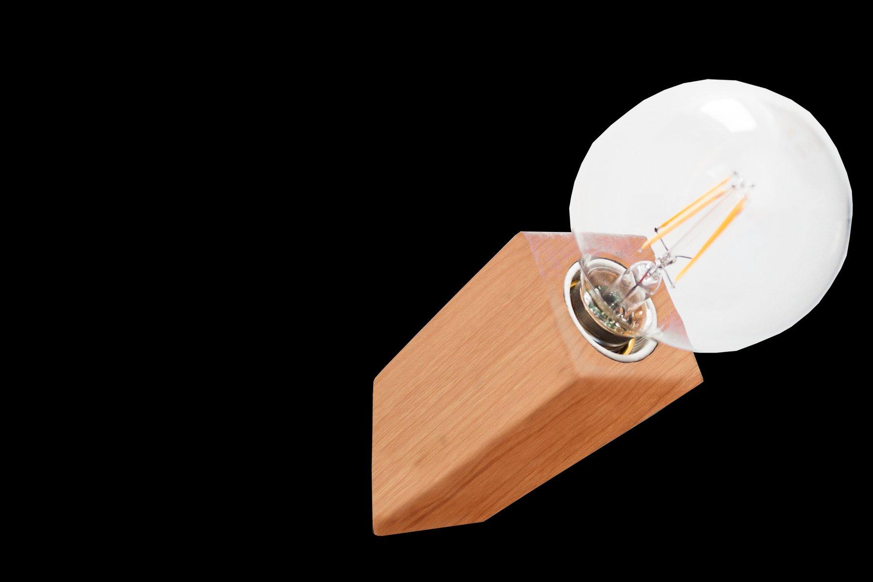 Pirn Wandlampe aus Kirschholz von Andrea Pregl für Ulap design