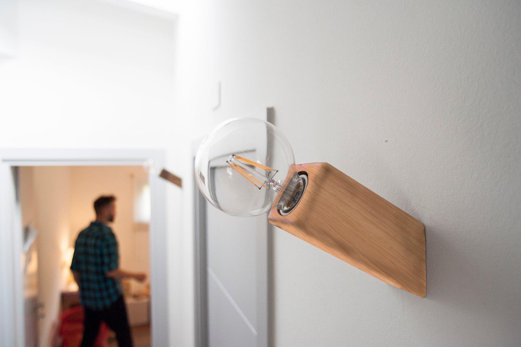 Lampade da parete e d appoggio led u tecnica nella luce u led