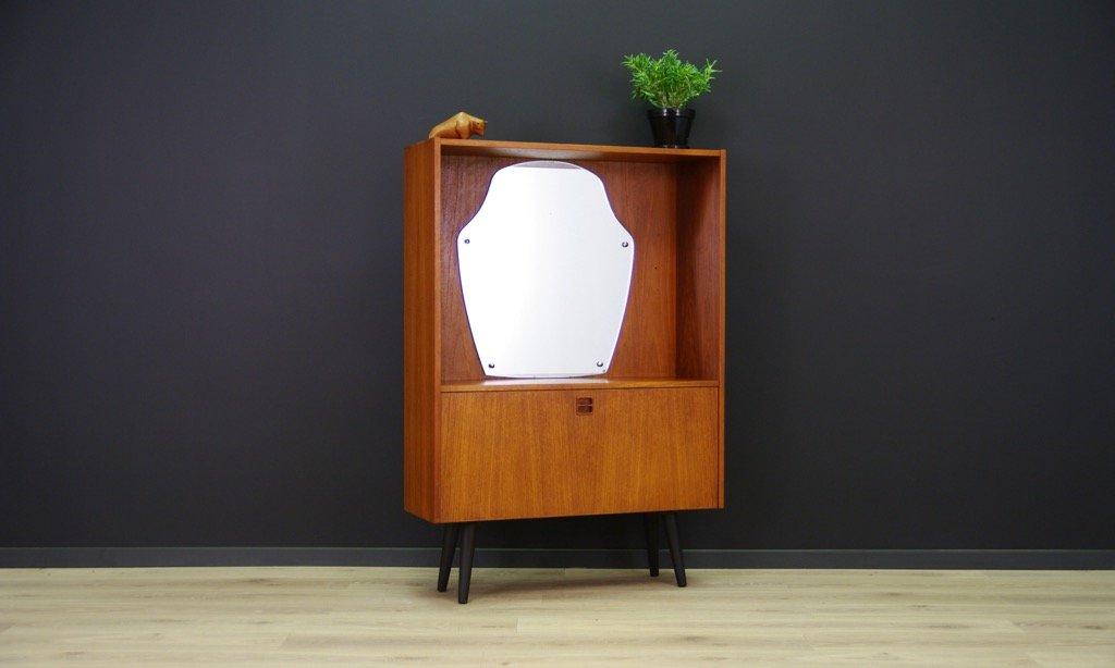 vintage schrank mit spiegel bei pamono kaufen. Black Bedroom Furniture Sets. Home Design Ideas