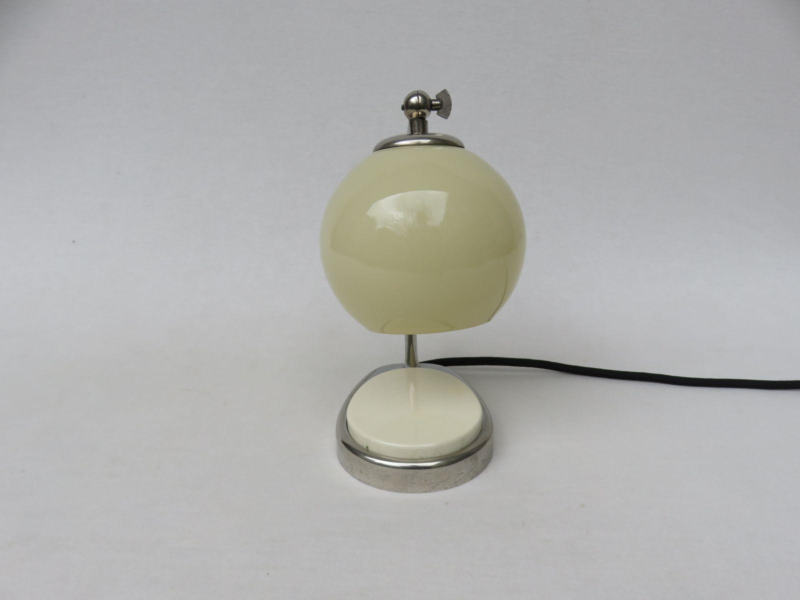 nachttisch lampe von marianne brandt 1959 bei pamono kaufen. Black Bedroom Furniture Sets. Home Design Ideas