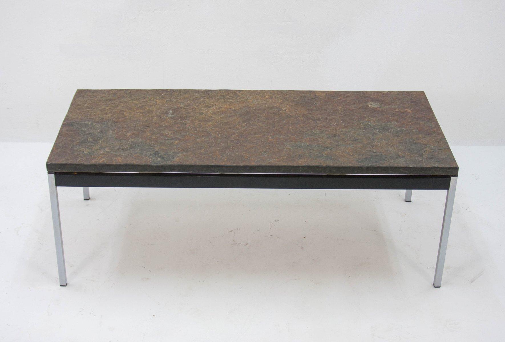 Vintage slate coffee table 1960s 6 £896 00