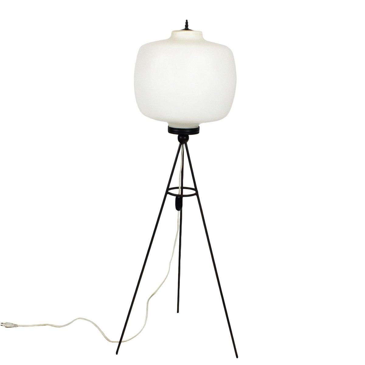 Italienische Dreibein Stehlampe, 1960er