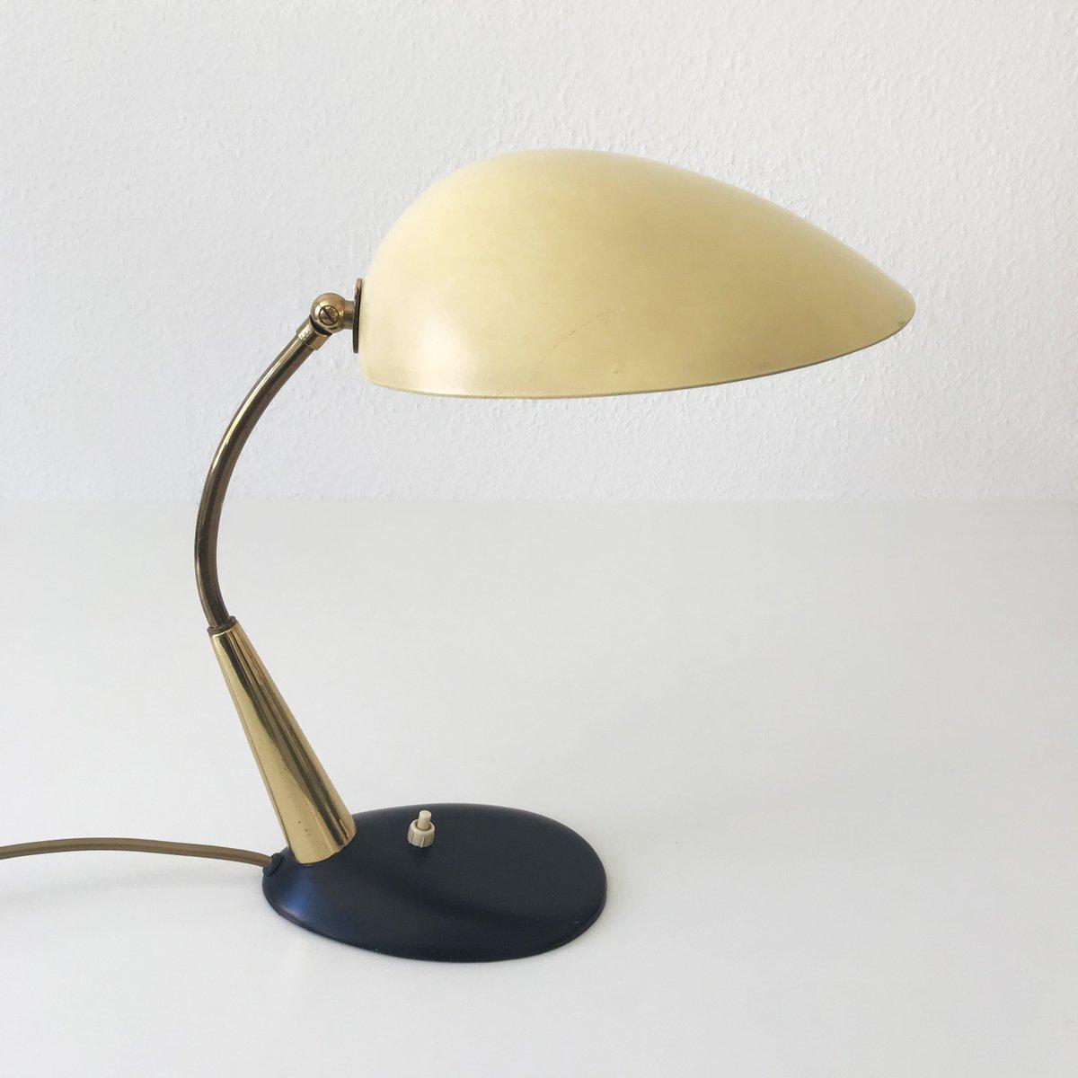 Mid-Century Schreibtischlampe von Gebrüder Cosack