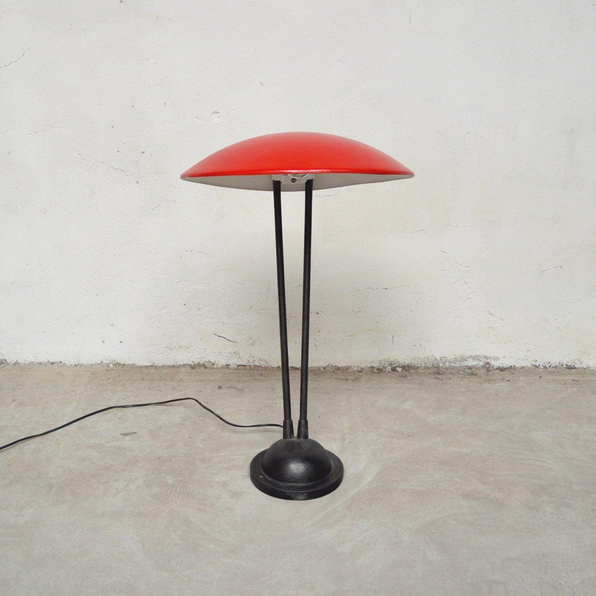 Französische Vintage Schreibtischlampe, 1950er