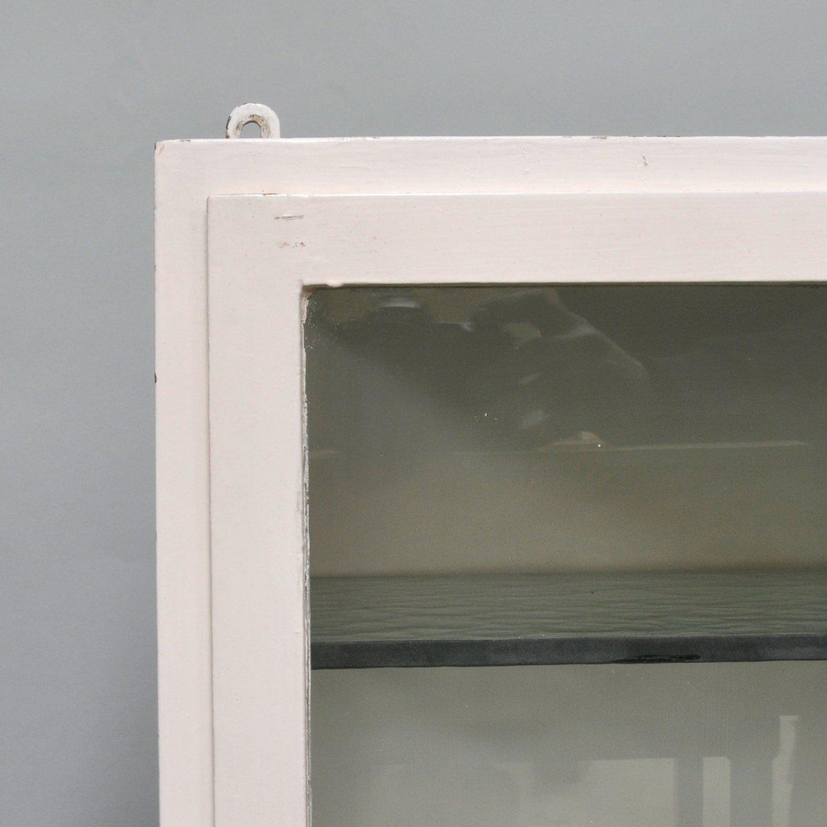 Botiqu n peque o de hierro y vidrio antiguo a os 40 en venta en pamono - Botiquin antiguo ...