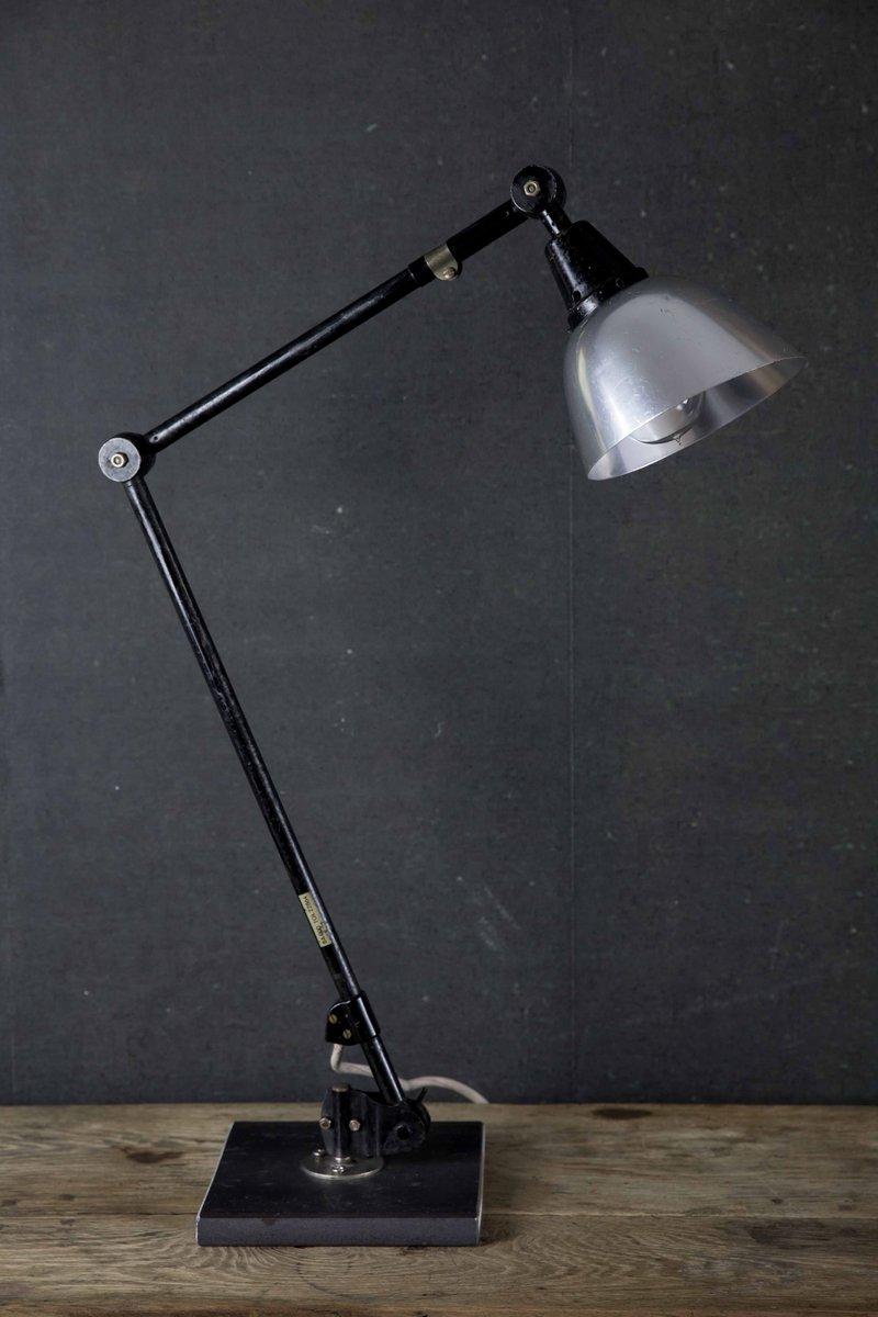 Vintage Bauhaus Schreibtischlampe von Curt Fischer für Midgard