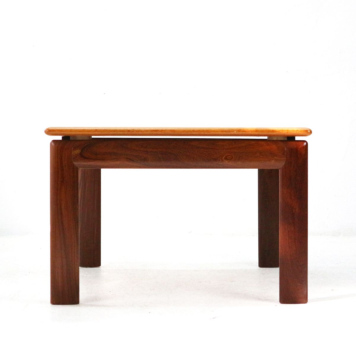 Square Teak Coffee Table, 1970s For Sale At Pamono
