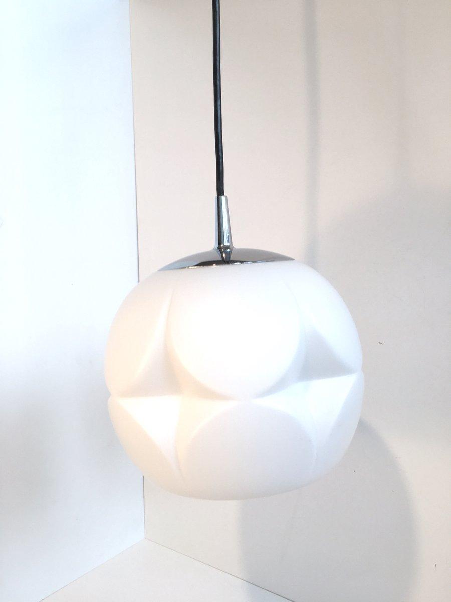 Mid-Century Opalglas Lampe von Peill & Putzler, 1960er