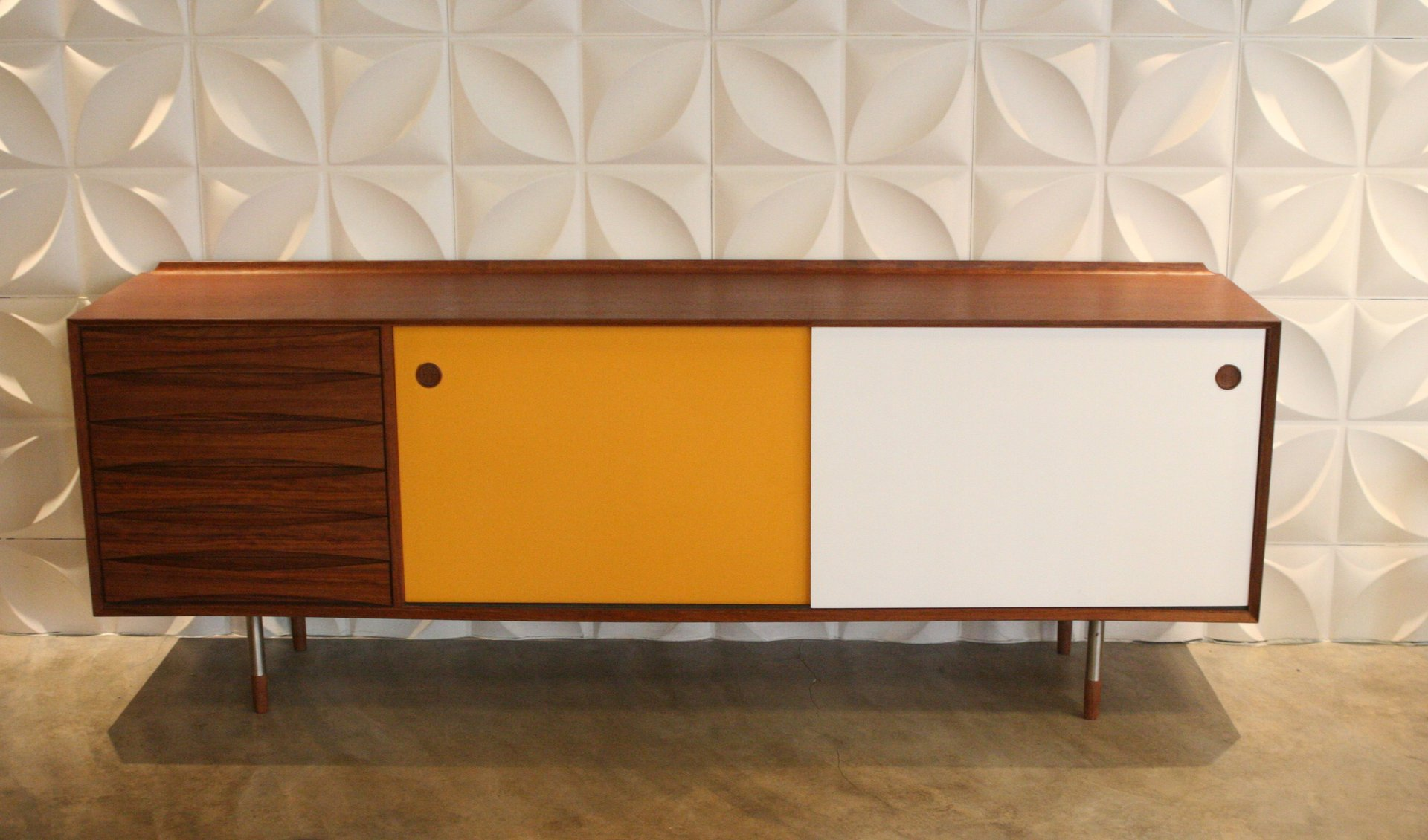 Mid century teak sideboard by arne vodder for sibast