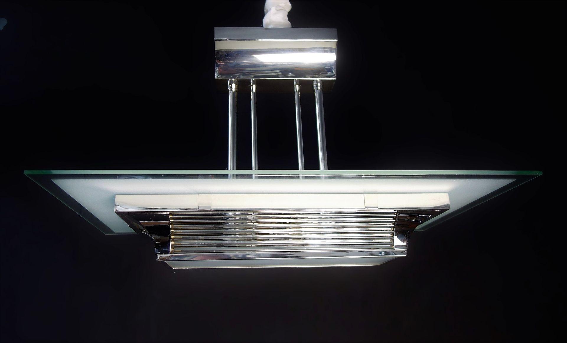 lampe art d co par henry petitot pour atelier petitot 1930s en vente sur pamono. Black Bedroom Furniture Sets. Home Design Ideas