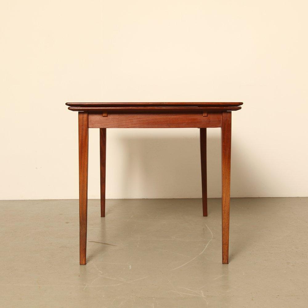 table de salle manger vintage extensible pays bas 1960s en vente sur pamono. Black Bedroom Furniture Sets. Home Design Ideas