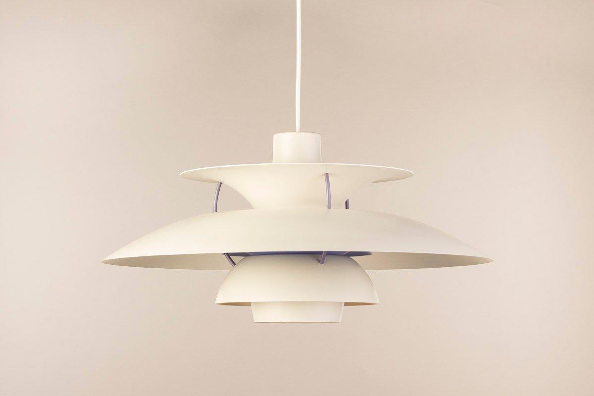 Vintage PH5 Hängelampe Lamp von Poul Henningsen für Louis Poulsen, 196...