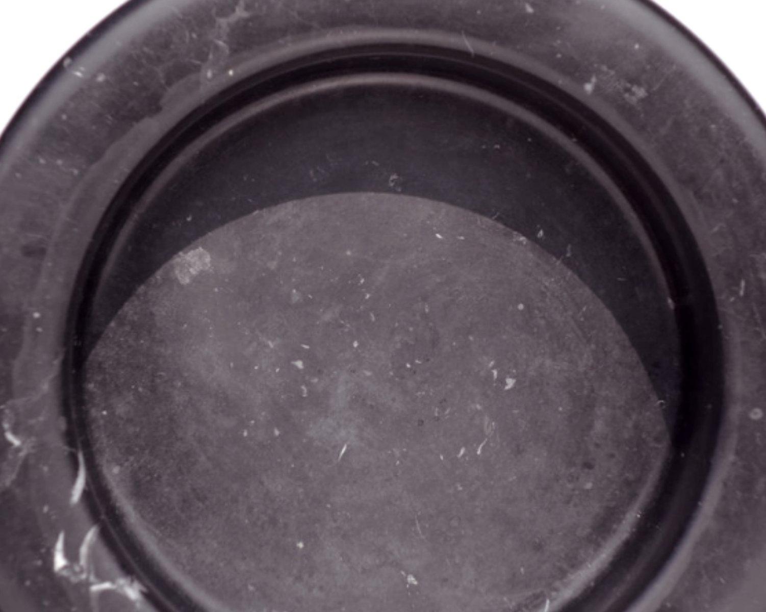 cendrier en marbre noir par angelo mangiarotti pour knoll inc 1967 en vente sur pamono. Black Bedroom Furniture Sets. Home Design Ideas