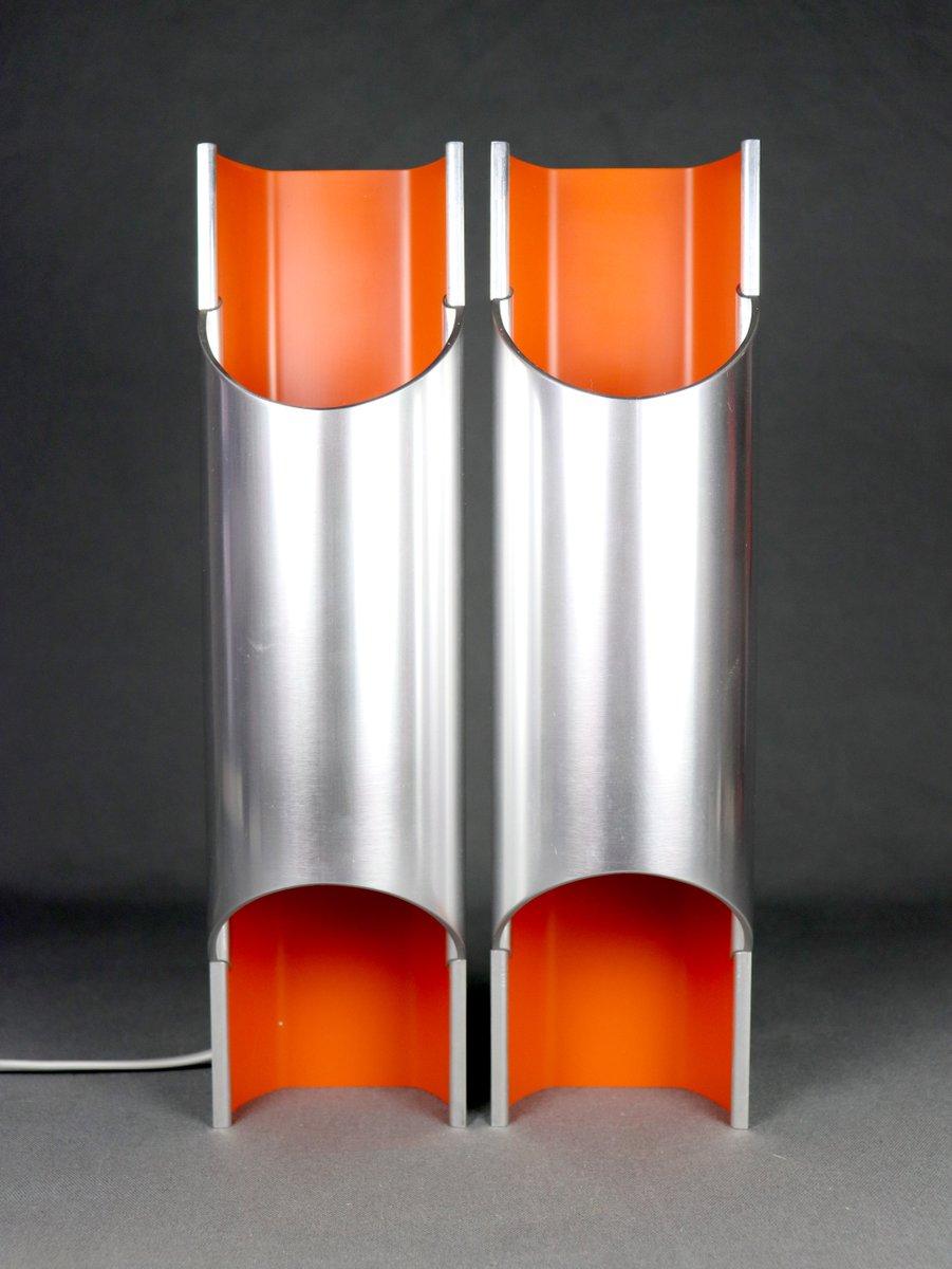 Pandean Wandlampen von Bent Karlby für Lyfa, 1970er, 2er Set