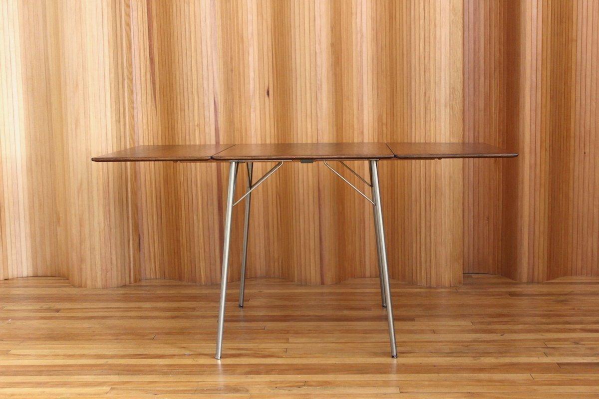 Modell 3601 Palisander Frühstückstisch von Arne Jacobsen für Fritz Han...