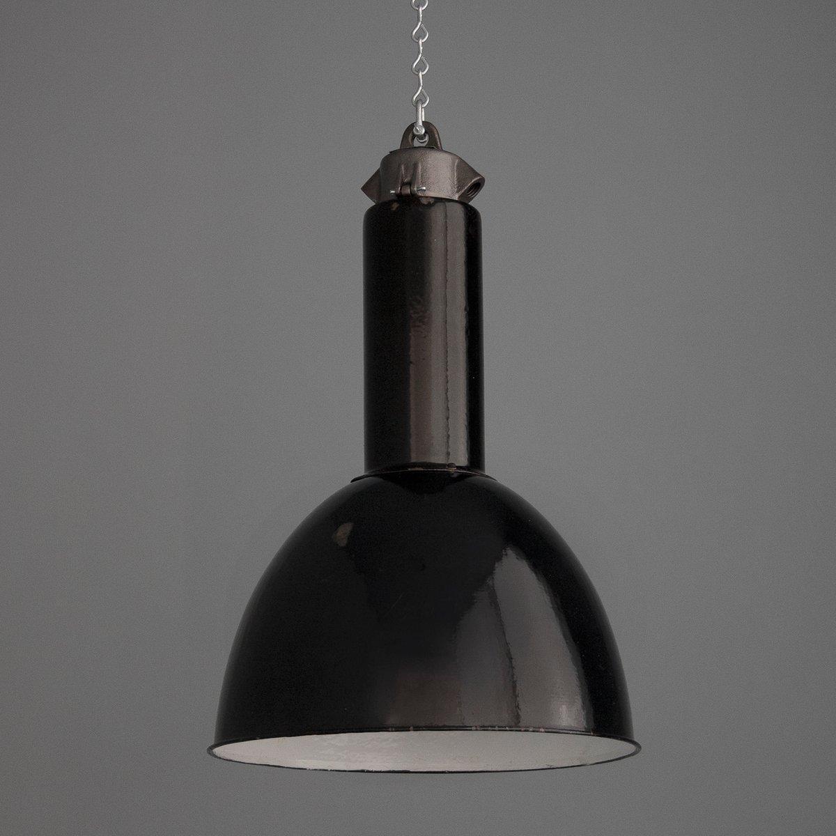Deutsche Vintage Fabrik Lampe