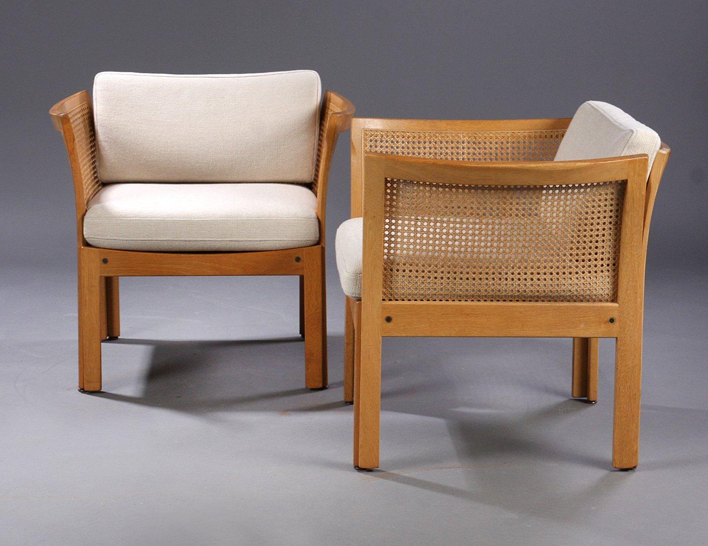 Plexus Sessel aus Eiche & grauem Stoff von Illum Vikkelso für CFC Silk...