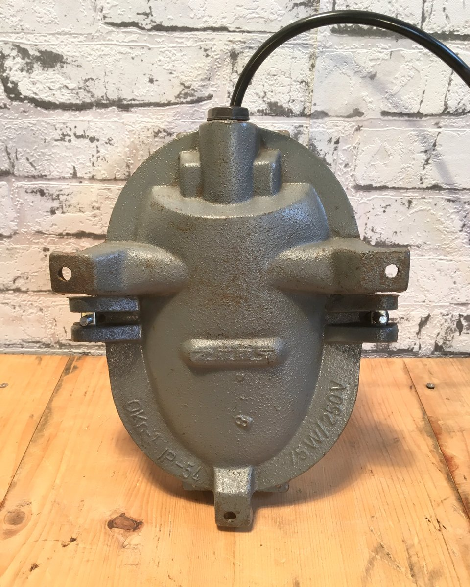 Vintage Industrial Cast Iron Wall Light For Sale At Pamono