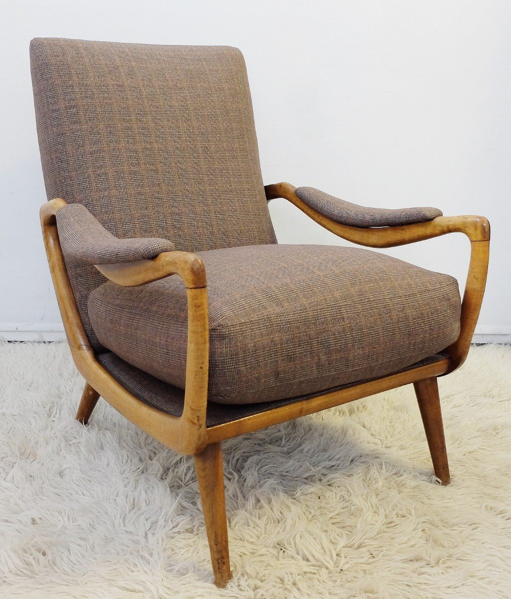 Mid-Century Prince of Wales Sessel