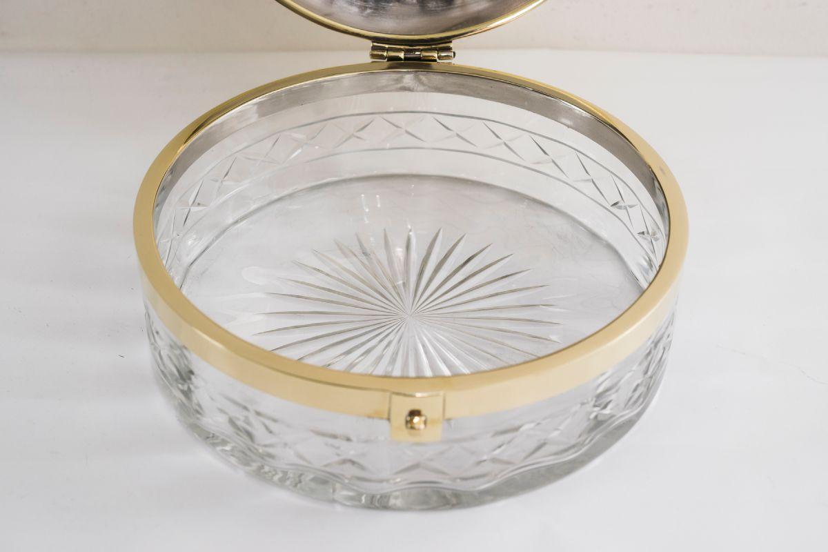 art deco glass bread box 1920s for sale at pamono. Black Bedroom Furniture Sets. Home Design Ideas