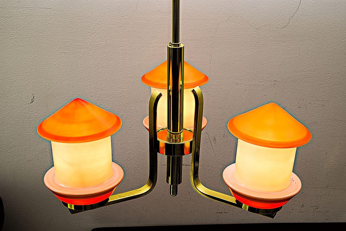 lustre art d co 1930s en vente sur pamono. Black Bedroom Furniture Sets. Home Design Ideas