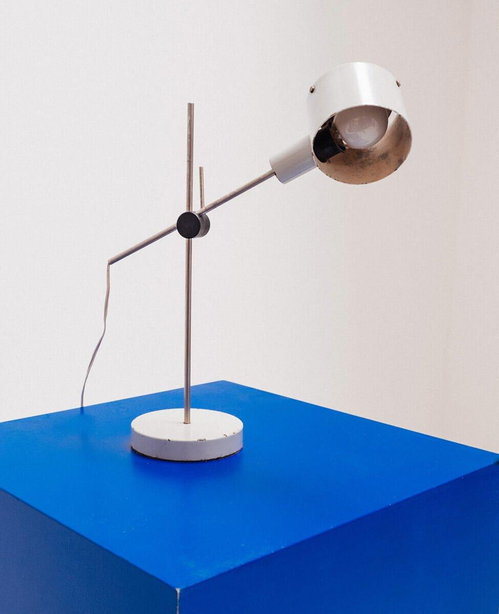 Vintage Schreibtischlampe von Tito Agnoli für Oluce, 1950er