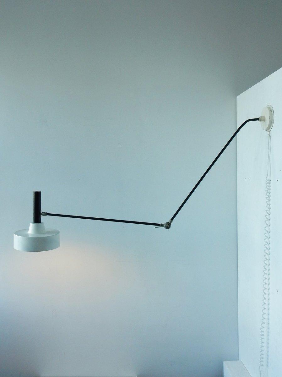 Modell 190B Wandlampe oder Deckenlampe von Willem Hagoort, 1956