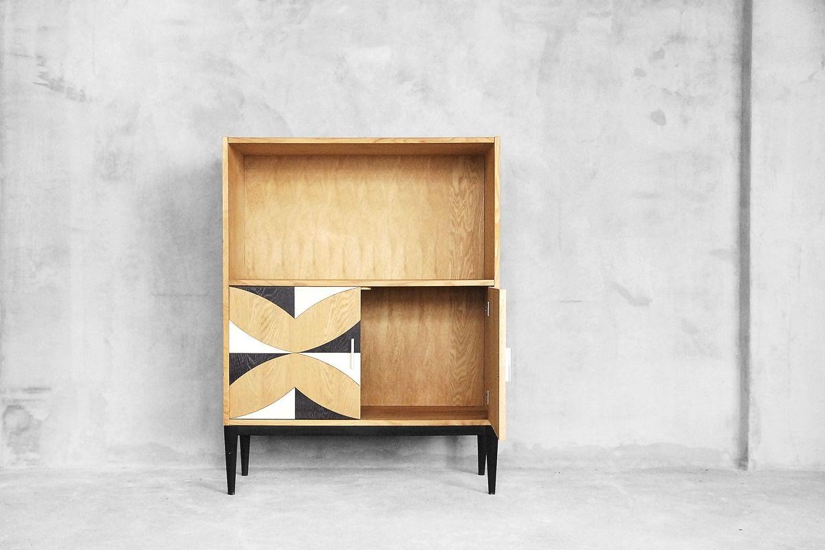 gemustertes vintage b cherregal 1970er bei pamono kaufen. Black Bedroom Furniture Sets. Home Design Ideas