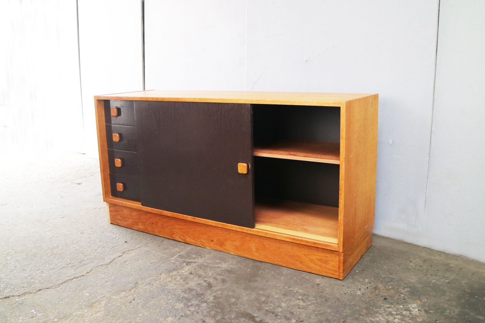 Danish Teak Credenza : Danish teak credenza from domino mobler 1960s for sale at pamono