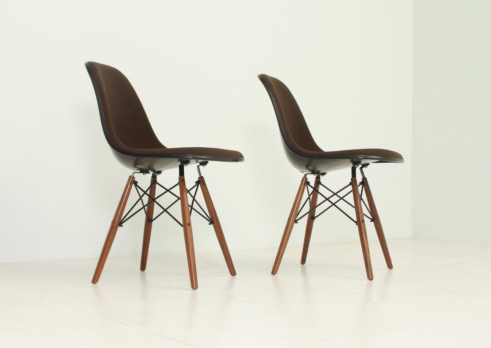 Vintage DSW Stühle von Charles und Ray Eames für Herman Miller, 2er ...