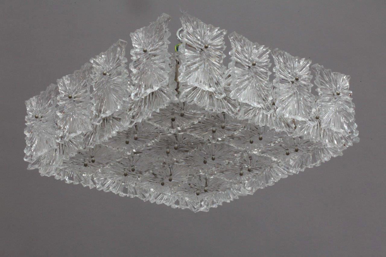 Deckenlampe von J. T. Kalmar, 1970er