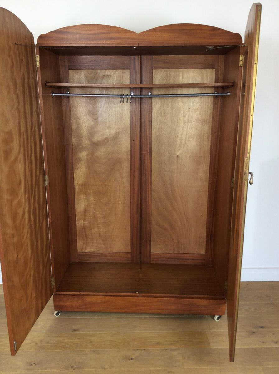 Art Deco Wardrobe From Maple & Co., 1930s For Sale At Pamono