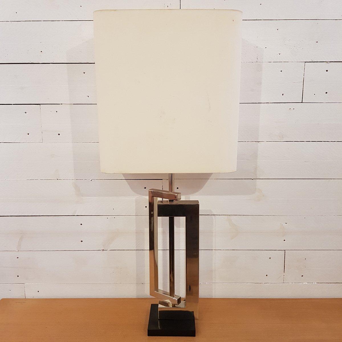 Skulpturale Lampe von Maison Charles, 1970er
