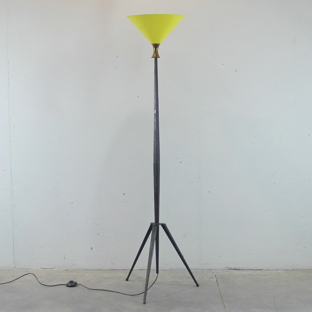 French floor lamp 1950s for sale at pamono french floor lamp 1950s aloadofball Choice Image
