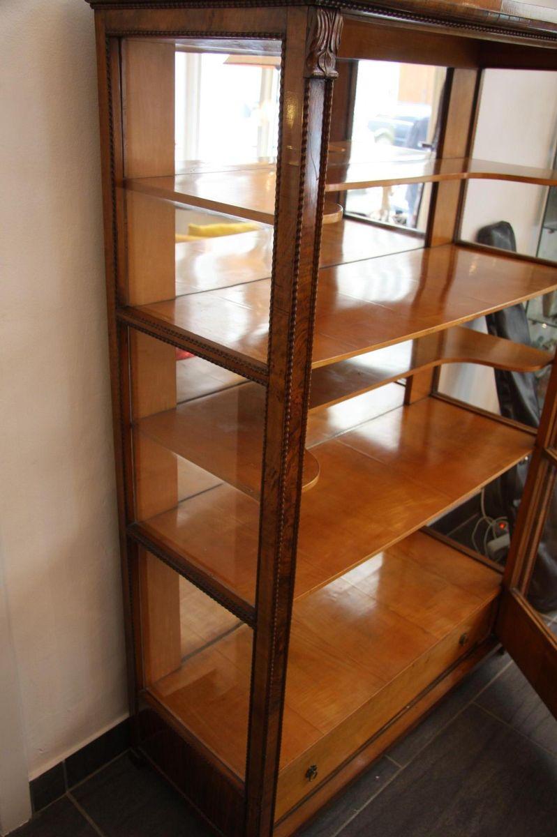 antike biedermeier vitrine bei pamono kaufen. Black Bedroom Furniture Sets. Home Design Ideas