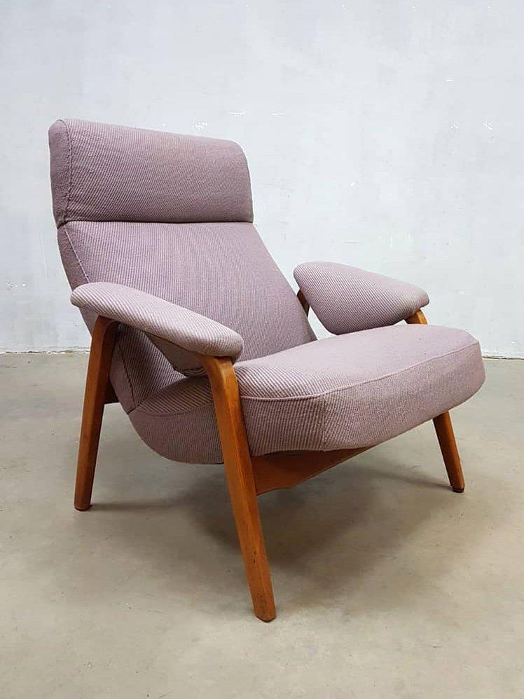 Niederländischer Vintage Sessel von Theo Ruth, 1950er