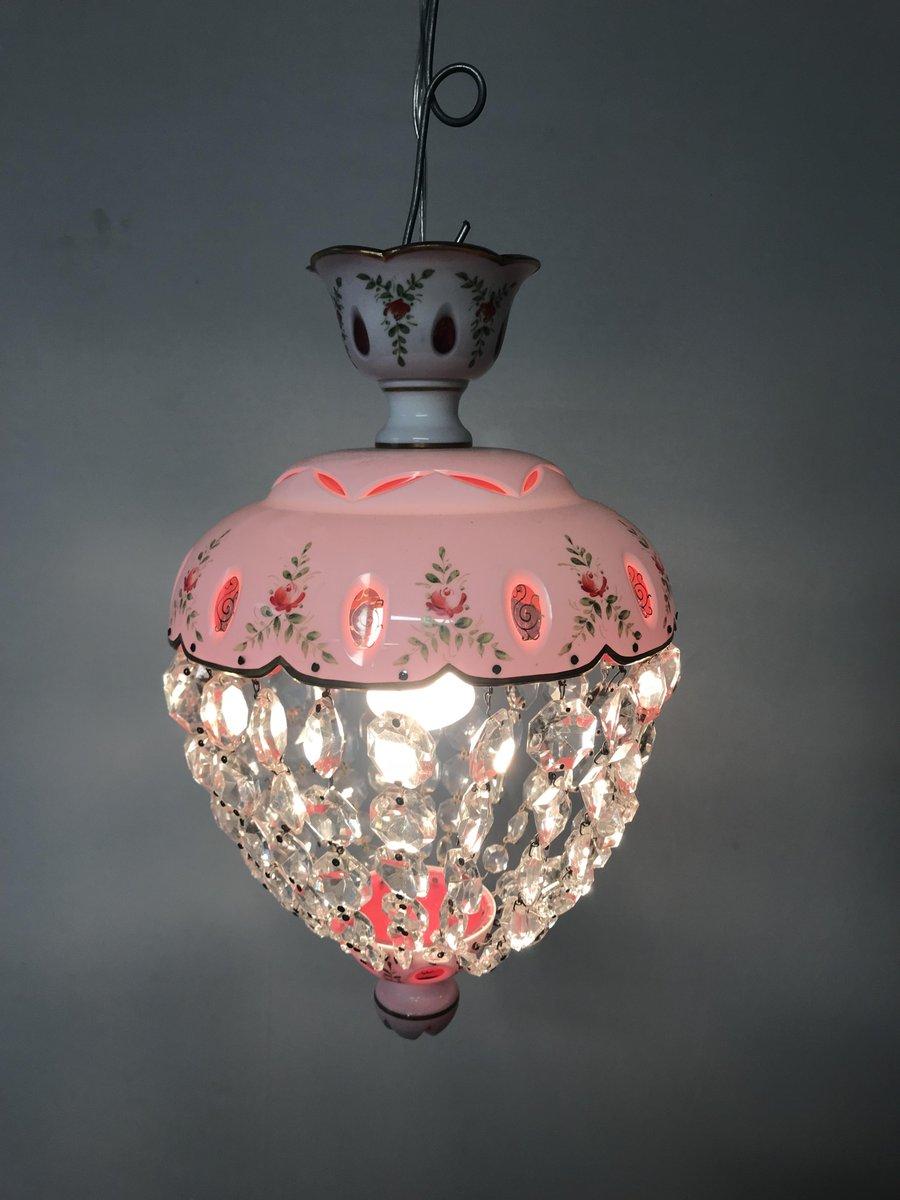 lampe suspension vintage en verre murano en vente sur pamono. Black Bedroom Furniture Sets. Home Design Ideas