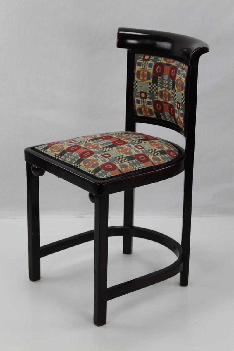 antike cabaret fledermaus st hle von josef hoffmann f r jacob josef kohn 4er set bei pamono. Black Bedroom Furniture Sets. Home Design Ideas