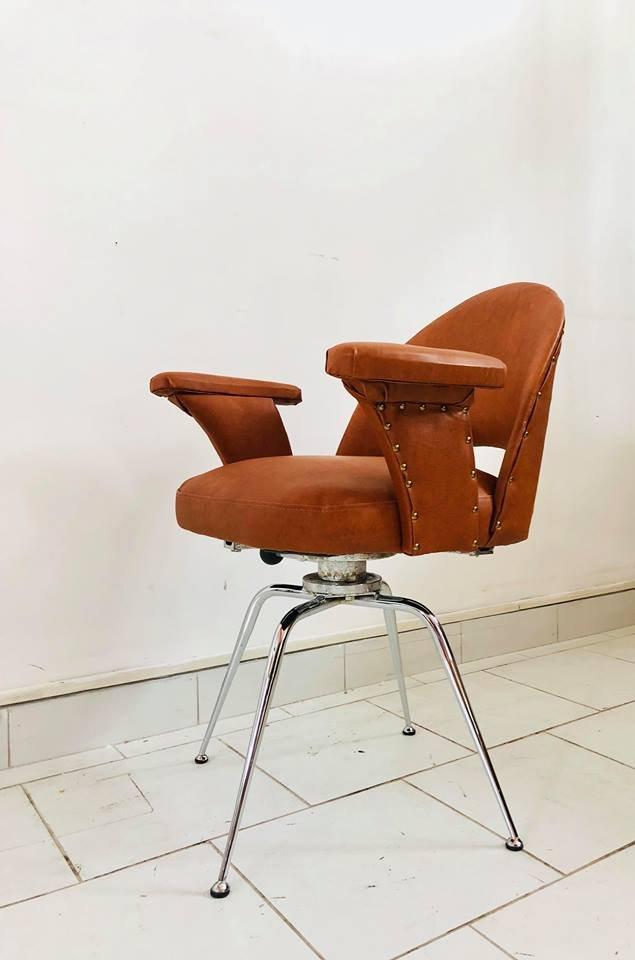 Sedia da ufficio italia anni 39 70 in vendita su pamono for Sedia design anni 70