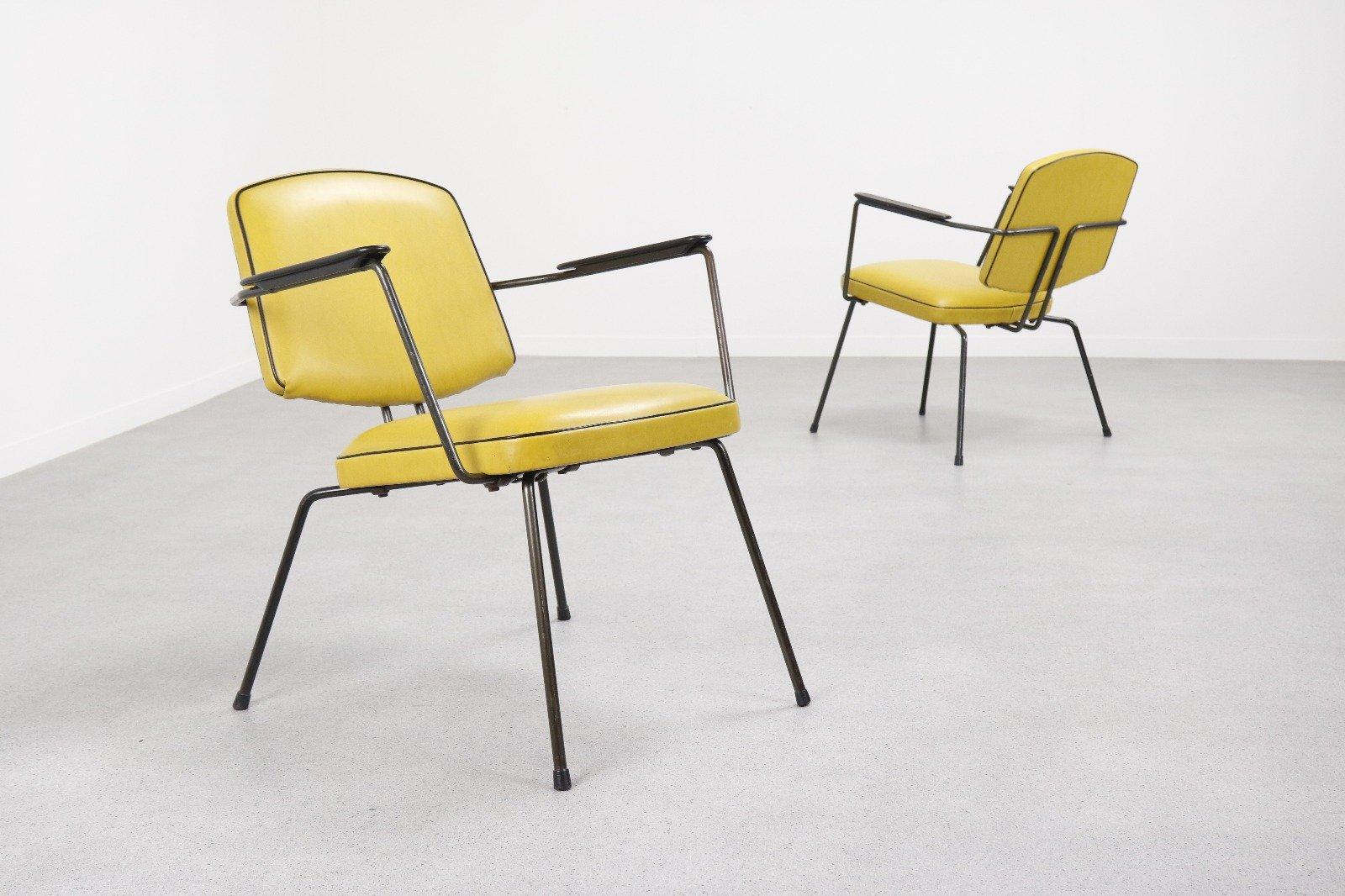 Modell 5003 Sessel von Rudolf Wolf für Elsrijk, 1955, 2er Set