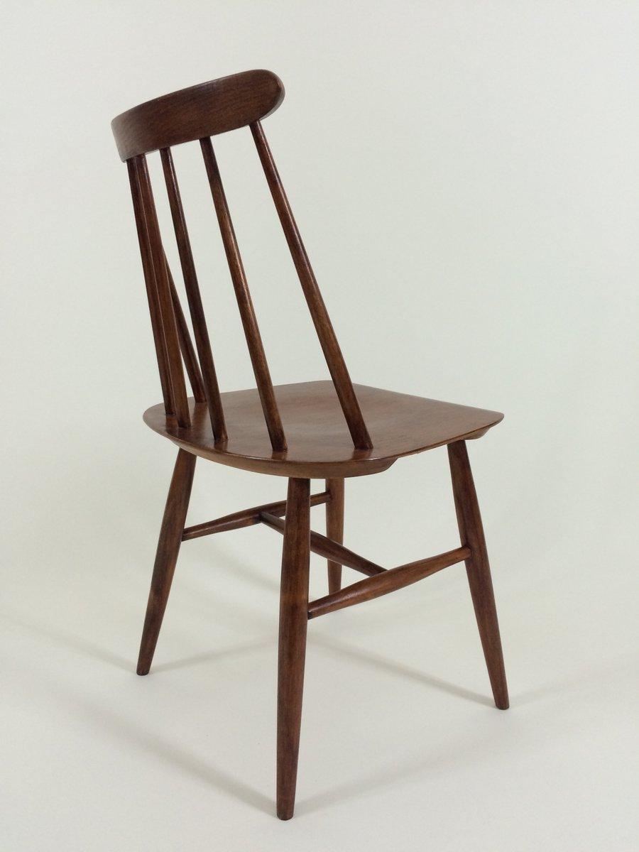 fanett st hle von ilmari tapiovaara f r edsby verken 1962 4er set bei pamono kaufen. Black Bedroom Furniture Sets. Home Design Ideas