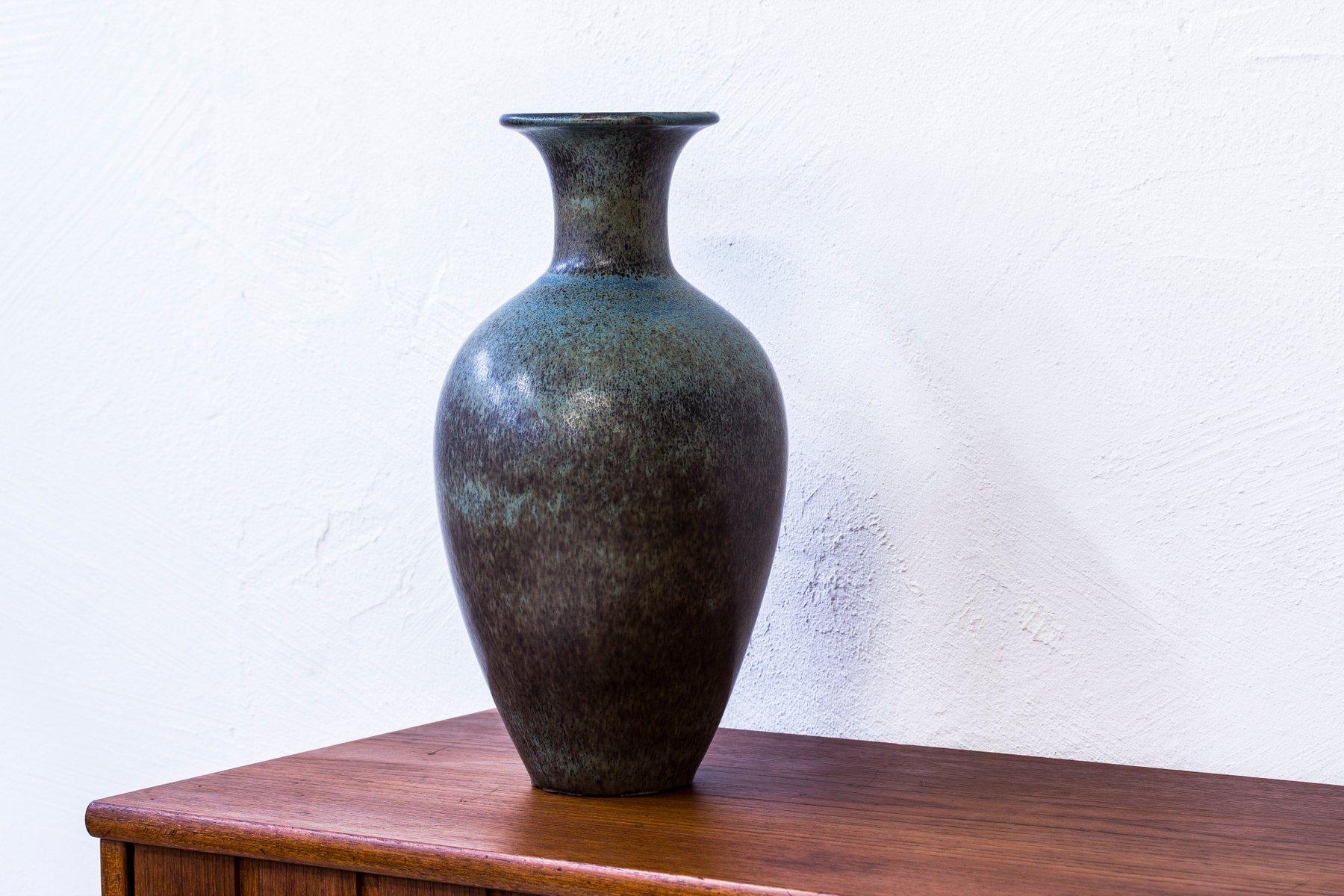 vase de sol en gr s par gunnar nylund pour r stand 1950s en vente sur pamono. Black Bedroom Furniture Sets. Home Design Ideas