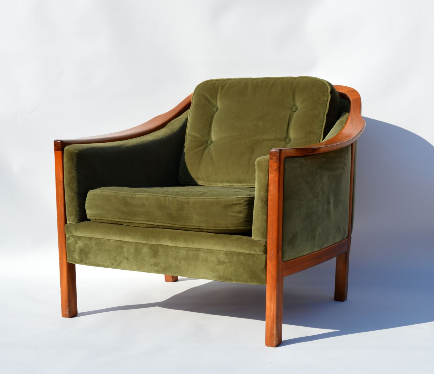 Schwedisches teak sofa sessel set 1960er bei pamono kaufen for Sofa sessel