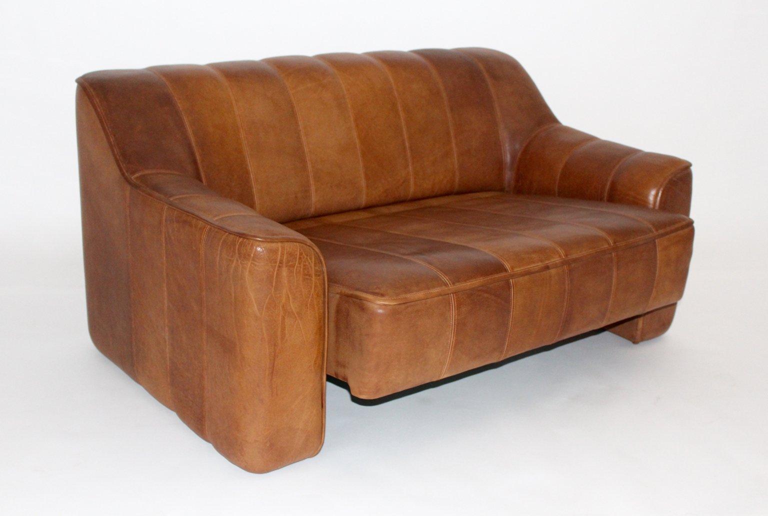 schweizer vintage 2 sitzer sofa von de sede 1970er bei pamono kaufen. Black Bedroom Furniture Sets. Home Design Ideas