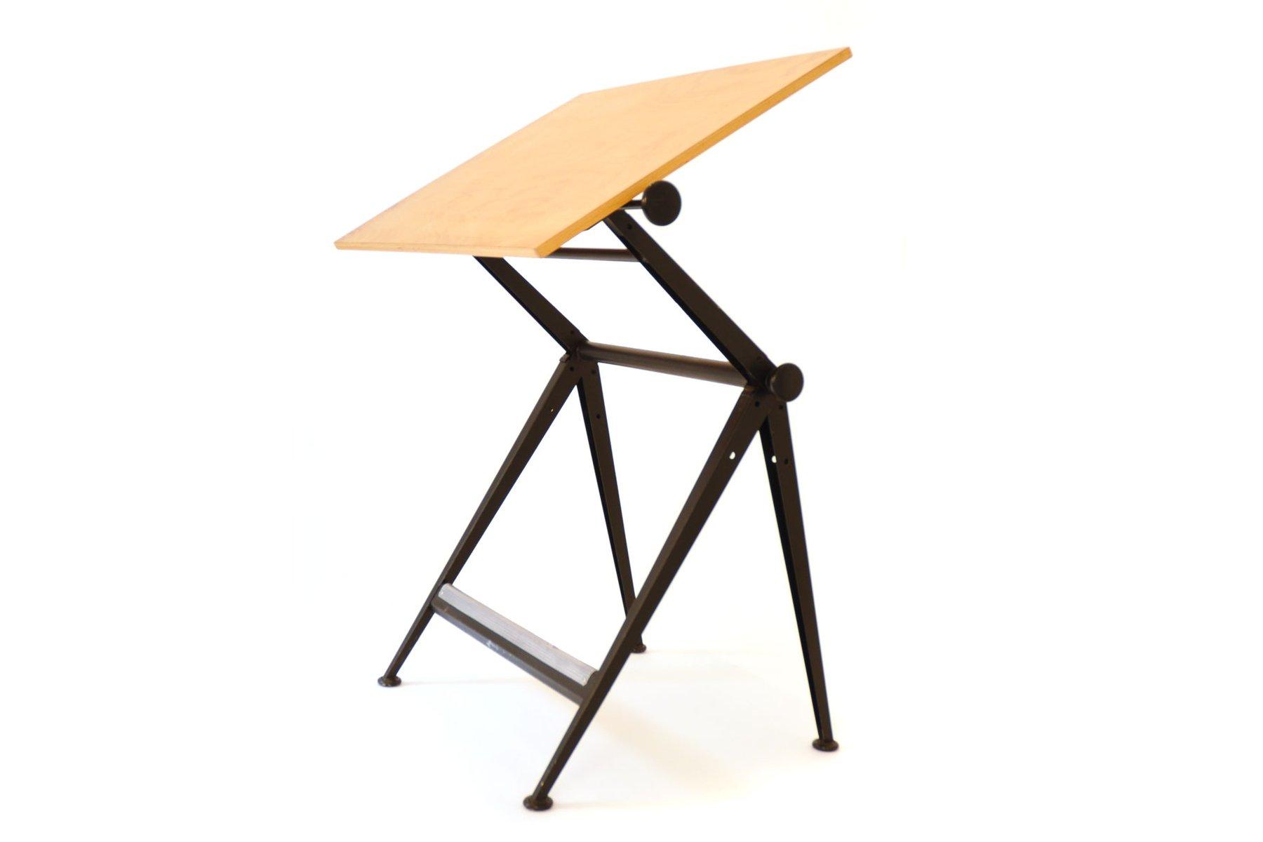 Tavolo da disegno vintage di wim rietveld friso kramer per ahrend de cirkel in vendita su pamono - Il tavolo da disegno ...