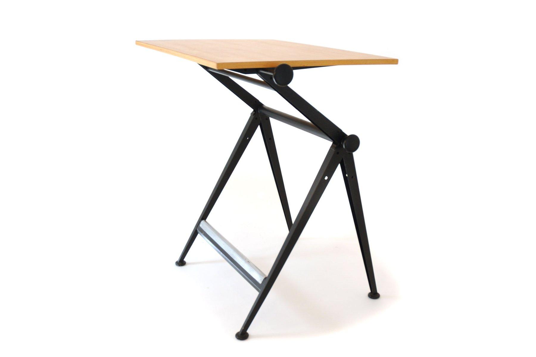 Tavolo da disegno vintage di wim rietveld & friso kramer per ahrend