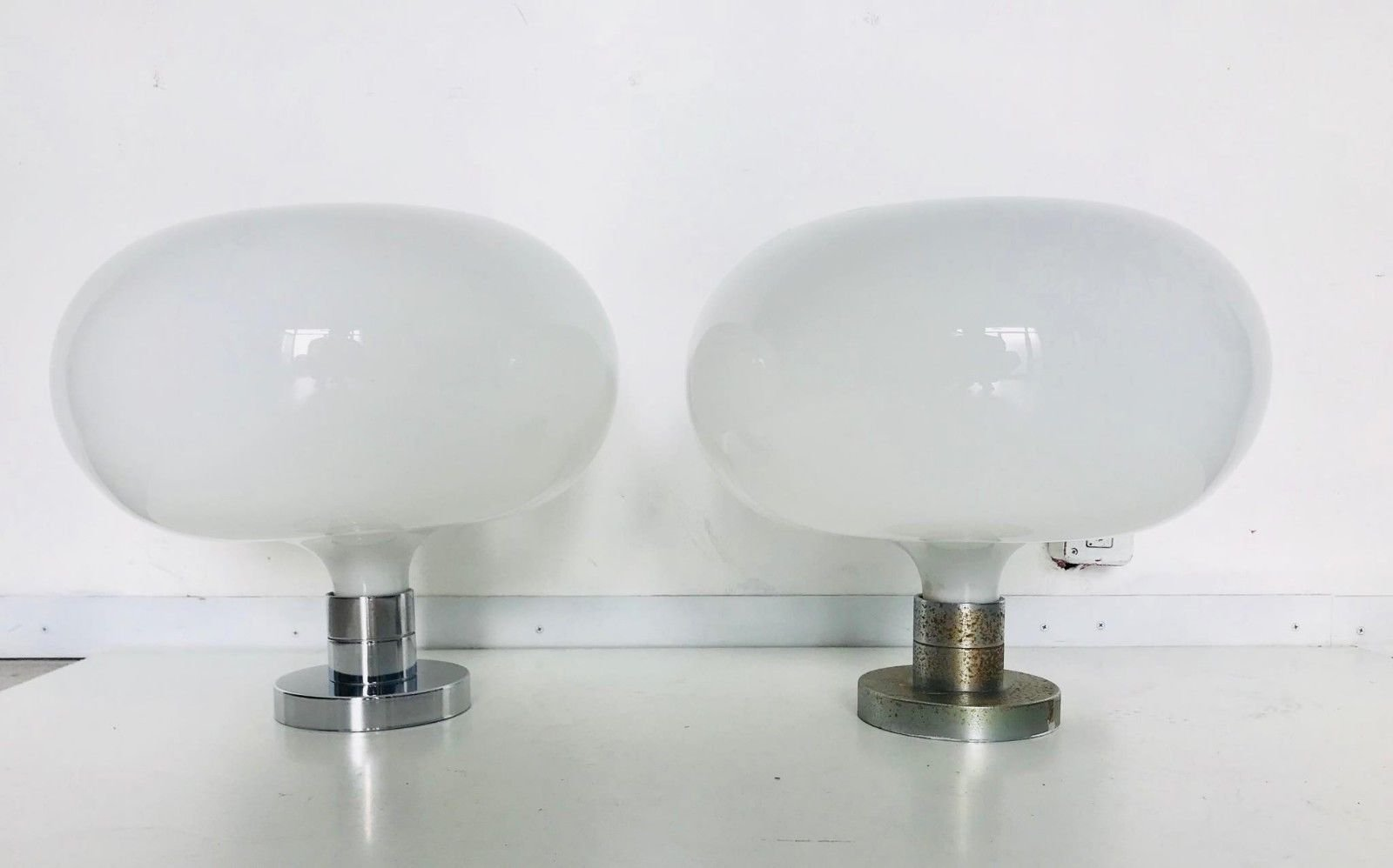 Italienische Deckenlampen von Franco Albini für Sirrah, 1960er, 2er Se...