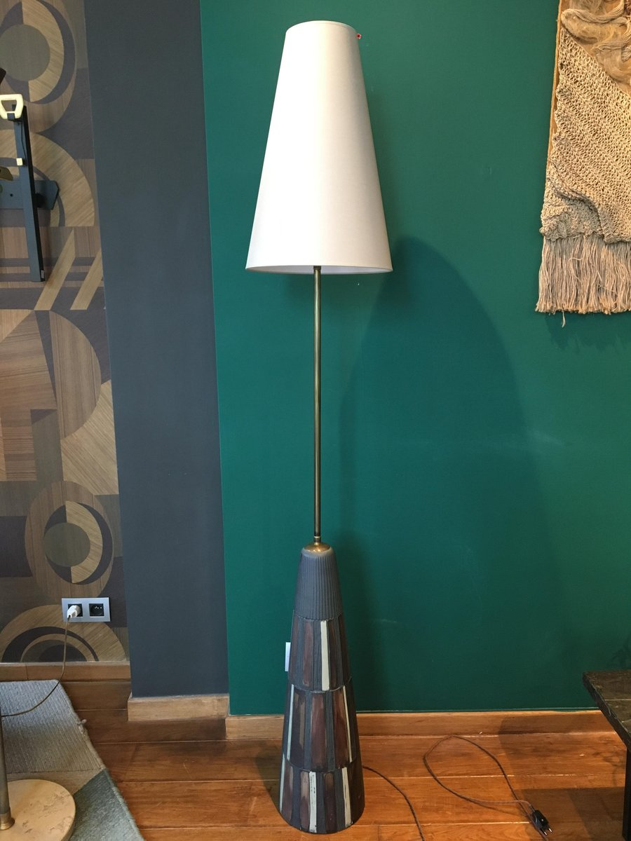Vintage Ceramic Floor Lamp For Sale At Pamono