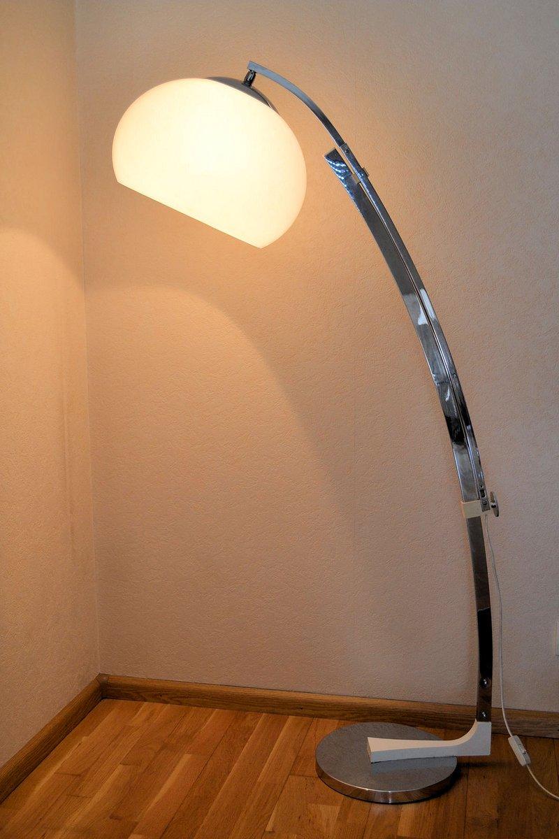Vintage Arc Floor Lamp By Goffredo Reggiani For Studio